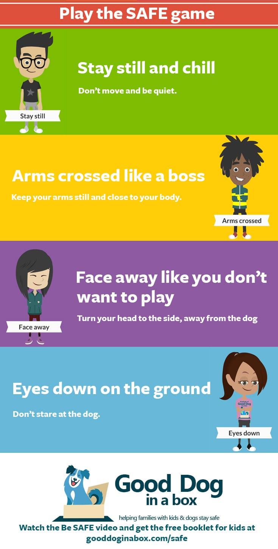 Be Safe Dog Bite Prevention Infographic