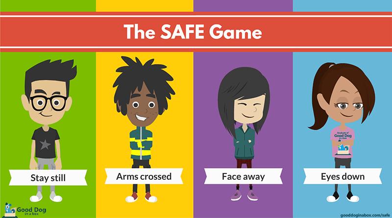 SAFE Kids Game for Dog Bite Prevention