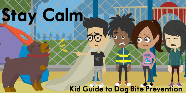 Staying Calm Around Strange Dogs - Free Kid's Guide