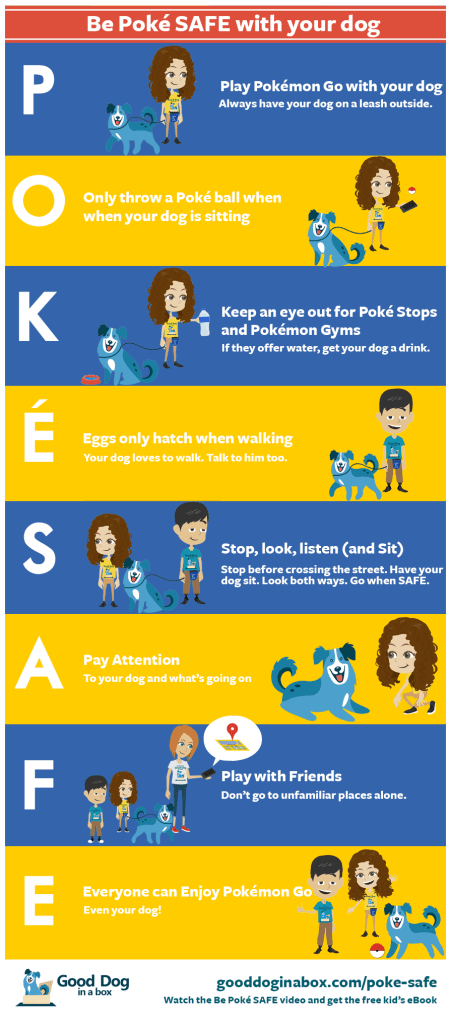 Be Pokemon Go SAFE for Kids and Dogs