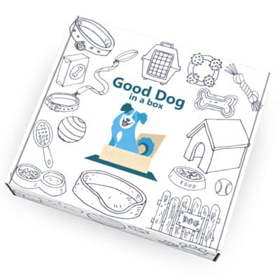 Good Dog in a Box Family Dog Training Subscription