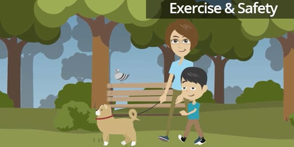Exercise & Safety with your Pet