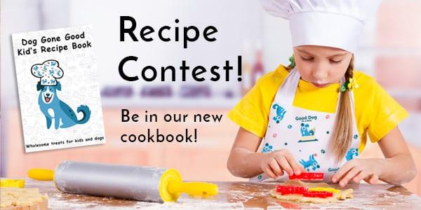 Kid and Dog Recipe Cookbook Contest
