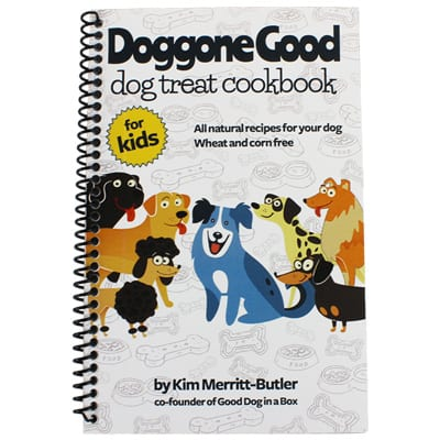 Doggone Good Dog Treat Cookbook for Kids