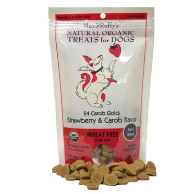 Max & Ruffy's Organic Strawberry & Carob Dog Treats