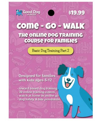 Come - Go - Walk Online Dog Training