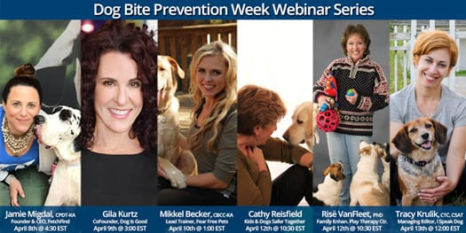 Dog Bite Prevention Week Webinars