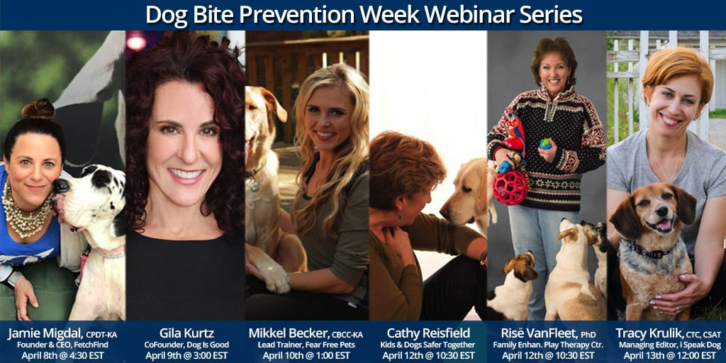 Dog Bite Prevention Week 2018 Webinar Series