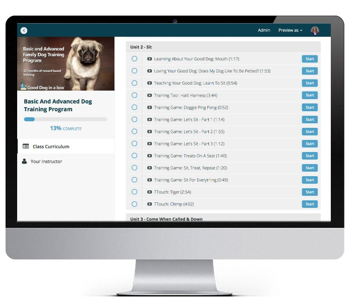 Good Dog Pro LMS System