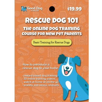 Rescue Dog 101 Dog Training Program