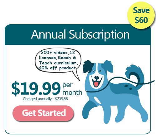 annual Good Dog Pro subscription
