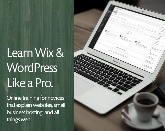 Learn Wix & WordPress for Novices